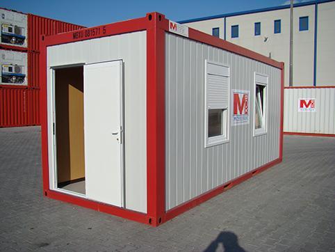 Офис контейнер - външен изглед