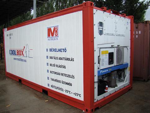 Снимка на хладилен контейнер