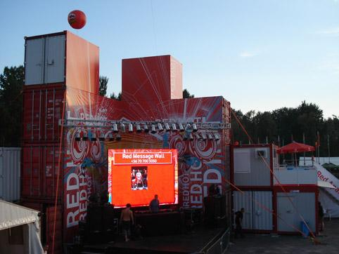 Щанд на Vodafone 3