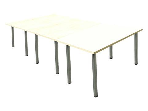 Заседателна маса с тръбни крака