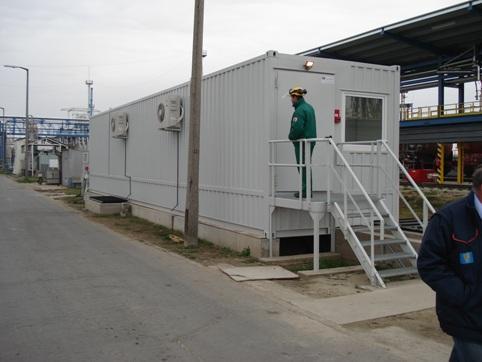 Апаратна в контейнер