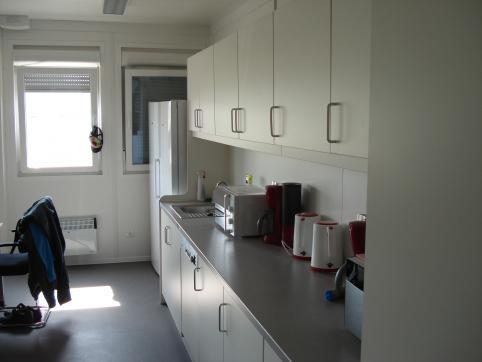 Administration building - kitchen