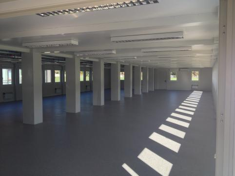Factory hall from inside