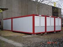 Столова в контейнер